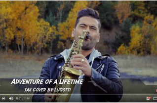 Coldplay – Adventure Of A Lifetime (Saxophone Cover By LuGotti)